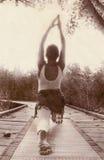 路径瑜伽 免版税库存图片