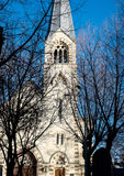路德教会圣伯多禄和保罗的大教堂在莫斯科 免版税库存照片