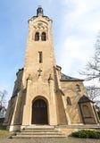 路德教会在Dubulti, Jurmala,拉脱维亚 免版税库存图片