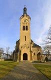 路德教会在Jurmala,拉脱维亚 免版税库存照片