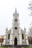 路德教会的kirche 免版税图库摄影