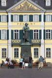 路德维希冯Beethoven雕象  图库摄影
