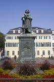 路德维希冯Beethoven雕象  库存图片
