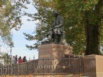 路德维希里氏纪念碑在德累斯顿,德国 库存照片