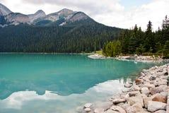 路易丝湖 图库摄影
