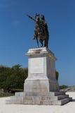 路易十四国王雕象在蒙彼利埃 库存图片