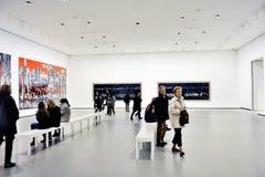 路易威登基础的当代艺术博物馆 免版税库存图片