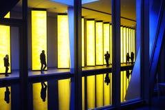 路易威登基础的当代艺术博物馆 免版税图库摄影