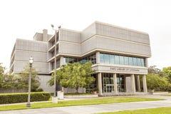 路易斯安那的州立图书馆在巴吞鲁日 免版税图库摄影
