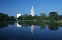 路易斯安那的状态国会大厦 免版税图库摄影