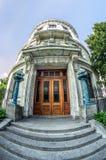 路易斯安那建立侧门Fisheye新的Orlea的最高法院 免版税库存图片