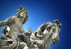 路易斯雕象xiv 免版税图库摄影