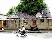 路易港,毛里求斯的首都 库存图片