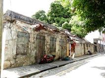 路易港,毛里求斯的首都 免版税库存照片
