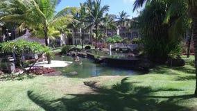 路易港,毛里求斯- 2015年12月04日:佳丽母马豪华类旅馆外部 股票录像