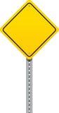 路标警告 图库摄影