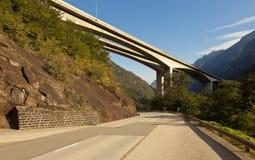 路桥梁 免版税图库摄影