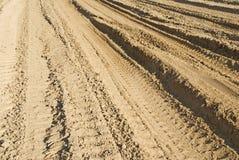 路沙子 库存图片