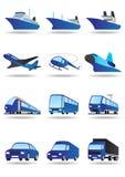 路海运空间运输 向量例证
