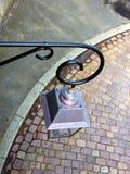 路灯柱摘要 图库摄影