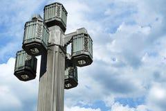 路灯柱 免版税库存图片