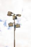3路灯柱 图库摄影