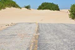 路的末端-死角 免版税库存照片