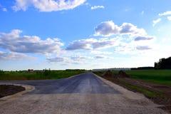 路的末端 免版税图库摄影