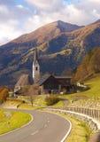路的看法,奥地利 库存照片
