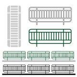 路篱芭的图形设计 向量例证
