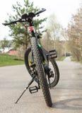 路线乘自行车 库存照片