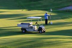 路线加利高尔夫球运动员签名 库存照片