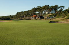 路线高尔夫球场 库存照片