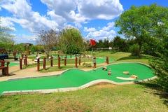 路线高尔夫球微型使用 免版税库存照片