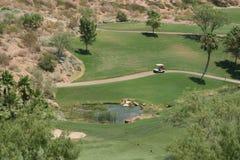 路线高尔夫球维加斯 免版税库存图片