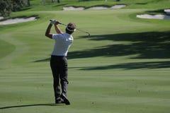 路线高尔夫球西班牙巴尔德拉马 免版税库存照片