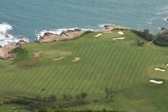 路线高尔夫球香港 免版税库存照片
