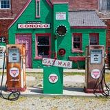 路线66加油站 免版税图库摄影