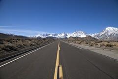 路线168,加利福尼亚 库存图片