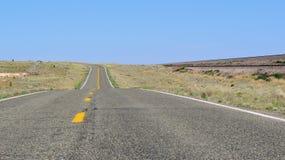 路线66,塞利格曼,亚利桑那,美国 库存图片