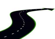 路绕 向量例证