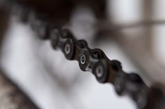 路自行车电动子 免版税库存照片