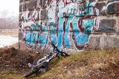 路自行车电动子 免版税图库摄影