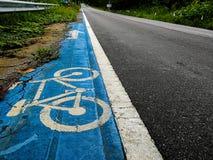 路自行车 图库摄影