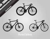 路自行车 库存图片