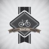 路自行车 免版税库存图片