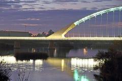 路西塔尼亚桥梁 库存图片