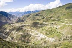 路西藏绕 库存图片