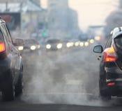 路路线迷离卡车俄罗斯 免版税图库摄影