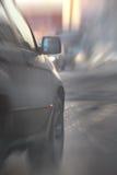 路路线迷离卡车俄罗斯 图库摄影